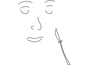 The Girl & The Scalpel Doodle